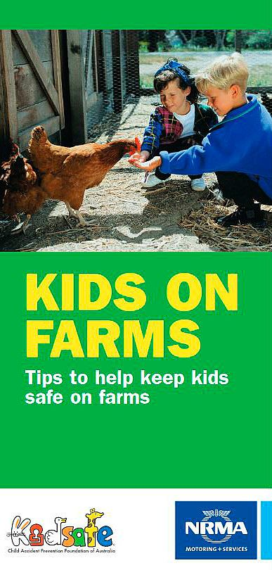 Tips to Help Keep Kids Safe on Farms