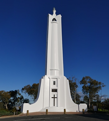 Albury War Memorial on Monument Hill