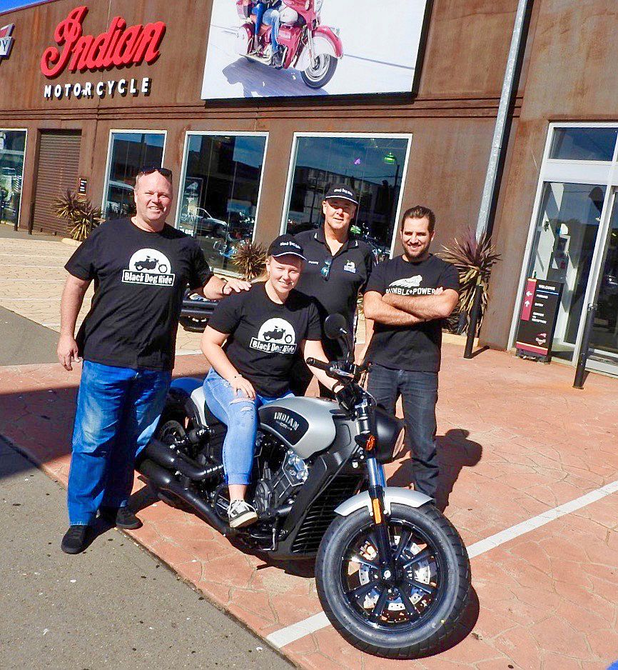 Indian Motorcycle Helps Fight the Black Dog
