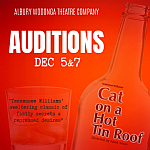 Auditions: Cat On A Hot Tin Roof By Tennessee Williams