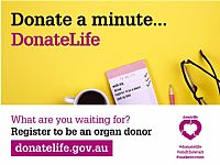 Australians Encouraged to Discuss Organ Donation During DonateLife Week