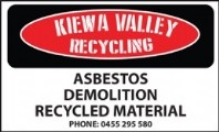 Kiewa Valley  Recycling